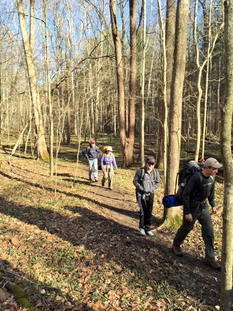 Hiking Morgan Monroe State Forest