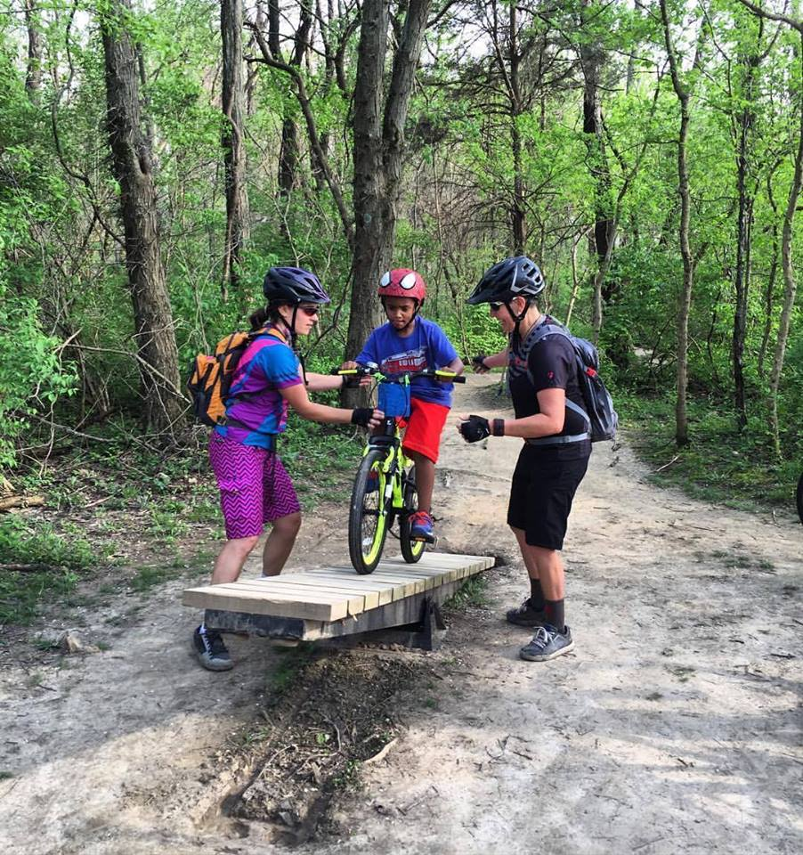 Youth mountain bike clinic, dnk presents