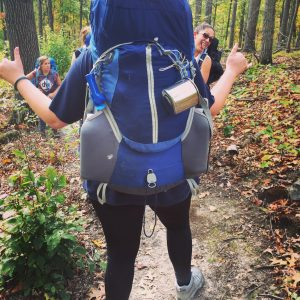 Backpacking Women DNK Presents