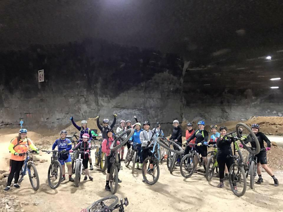 Mega Cavern Mountain Bike Clinic