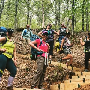 DNK Presents women's backpacking