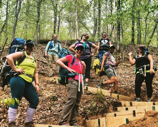 dnk presents, wild women, backpacking, adventure, corporate retreats, team building, hiking,