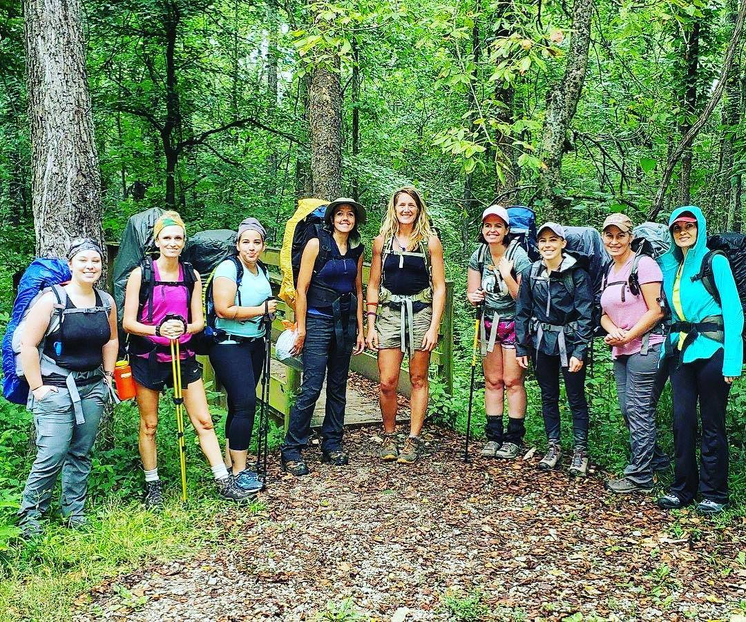Women's Backpacking DNK Presents, empowering adventures,
