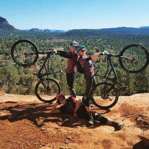 dnk presents, women's mountain bike camp, mountain bike clinic, sedona arizona, mountain bike, women mountain bike,