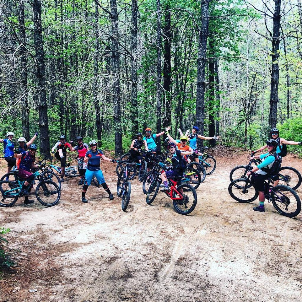 mountain biking, women's mountain biking, mountain bike camp, dnk presents, campside sessions,