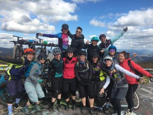 dnk presents, campside sessions, women's mountain bike camp, mountain bike camp, \