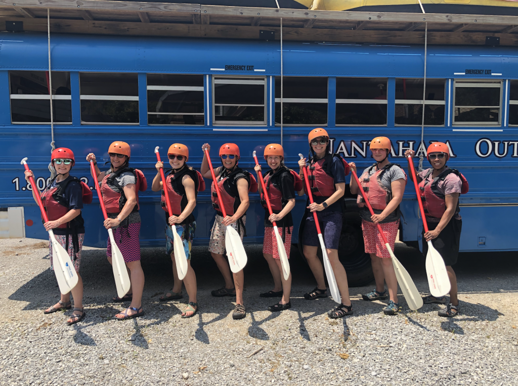 White Water Rafting Ocoee