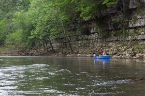 Blue River, Canoe Series, DNK Presents